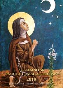 Lettre du Ministre général pour la solennité de sainte Claire