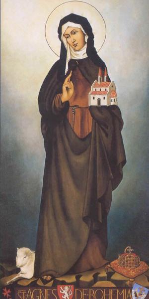 Pour la fête d'Agnès de Bohème,  le 2 mars 2006